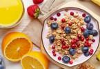 healthy breakfast - yogurt