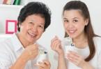 yogurt and elderly