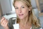 woman - yogurt - heart disease
