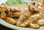 Chicken Mushroom sauce - Toby amidor