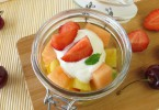 yogurt and fruit salad