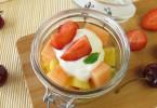 yogurt and fruit salad