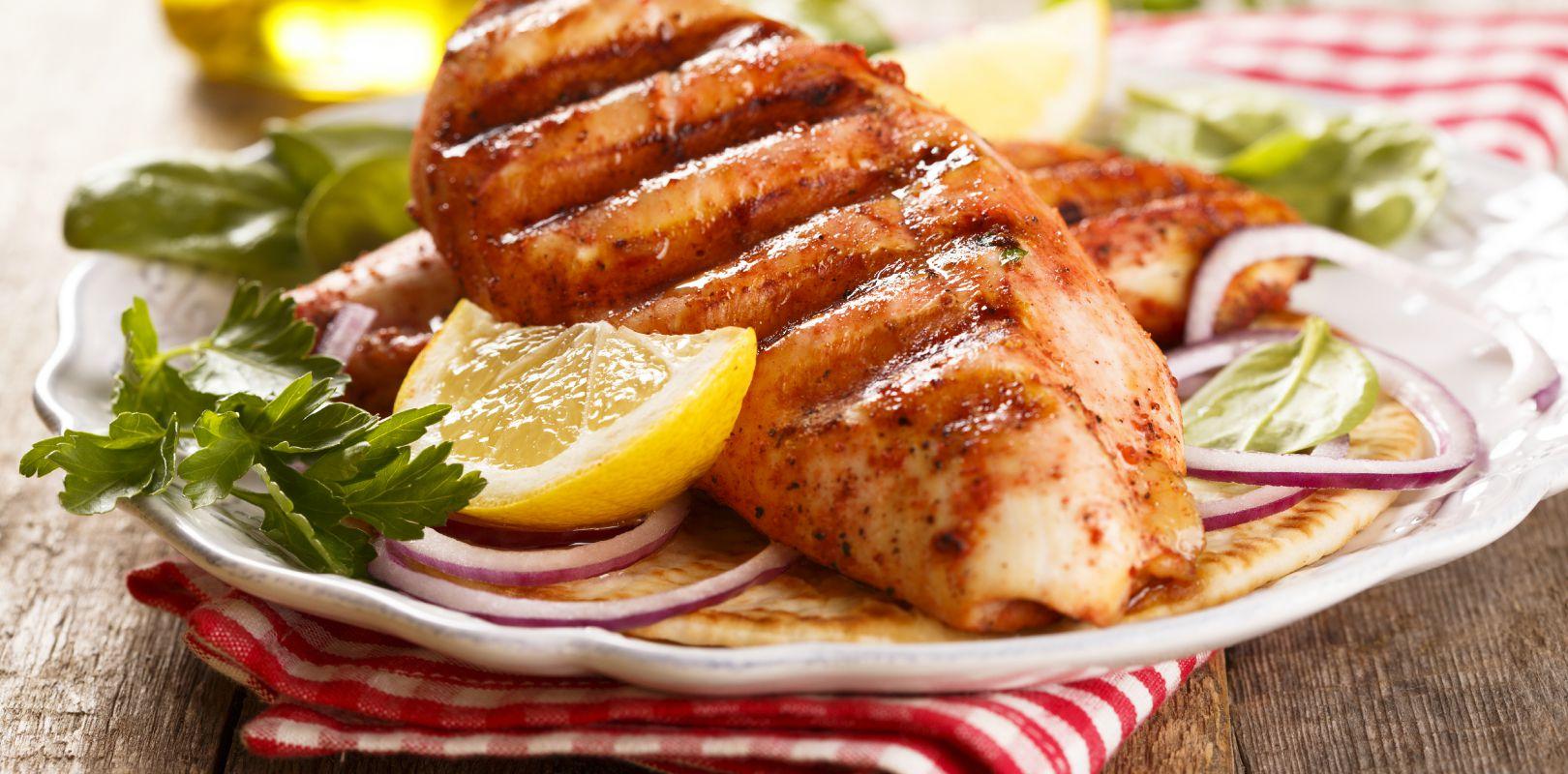 Grilled Tandoori Chicken Breasts Yogurt In Nutrition