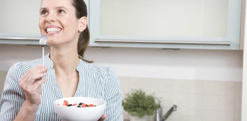 A little more yogurt, a little less stress
