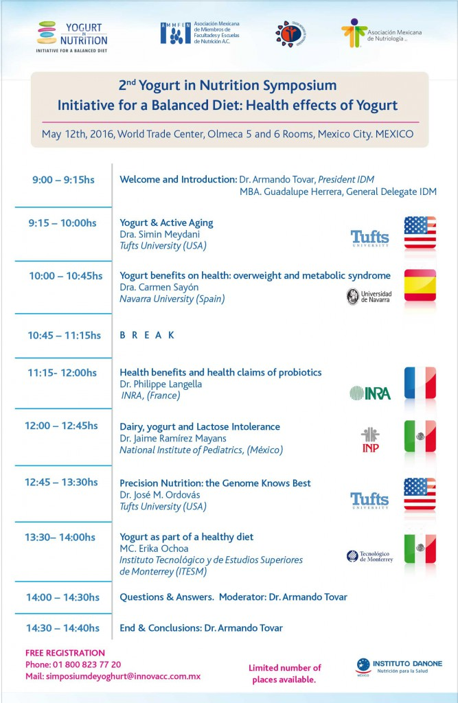 2nd Yoghurt Symposium in Mexico_YINI_May 12 2016