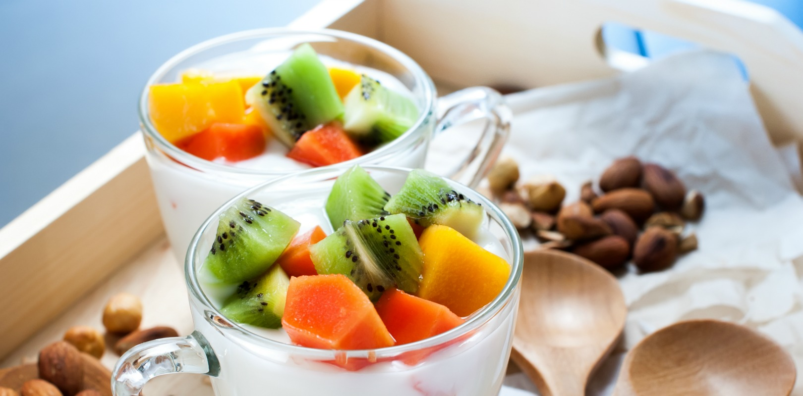 Combine Food With Yogurt For A Satisfying Snack