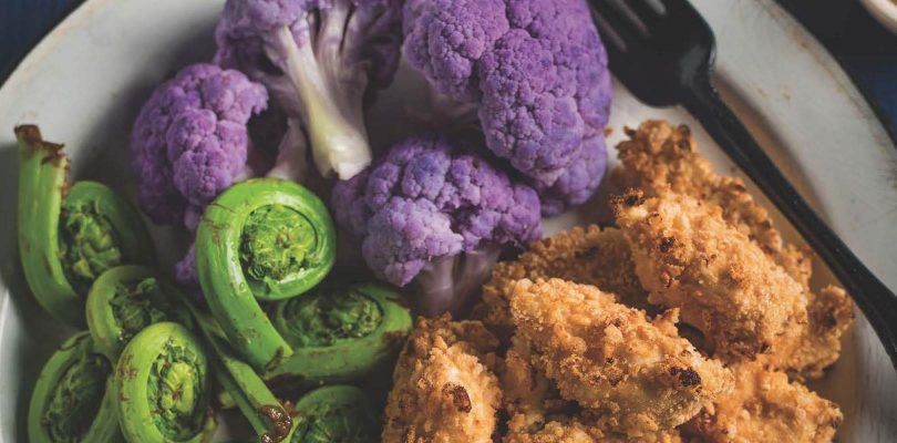 Hubert Cormier's healthy crispy chicken recipe with yogurt