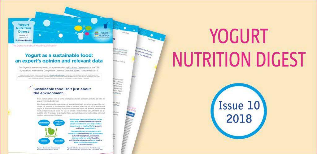Yogurt as a sustainable food