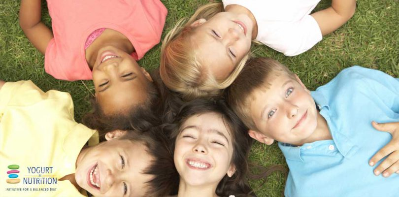 Yogurt contributes to children's nutrient intake