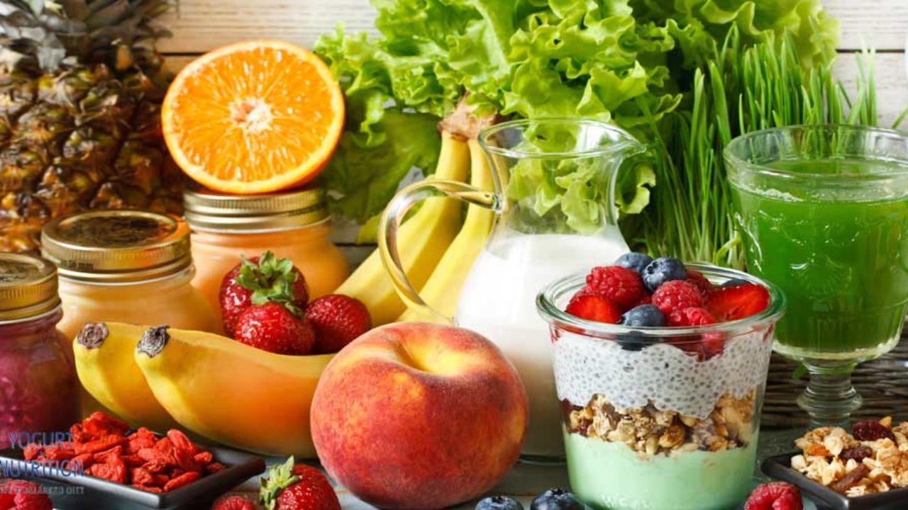 is fruit yogurt good for diet