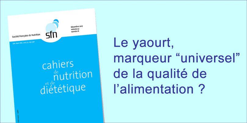 CND-yaourt, marqueur de la qualité alimentaire