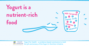 Yogurt is a nutrien-rich food