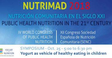YINI Symposium at Nutrimad 2018