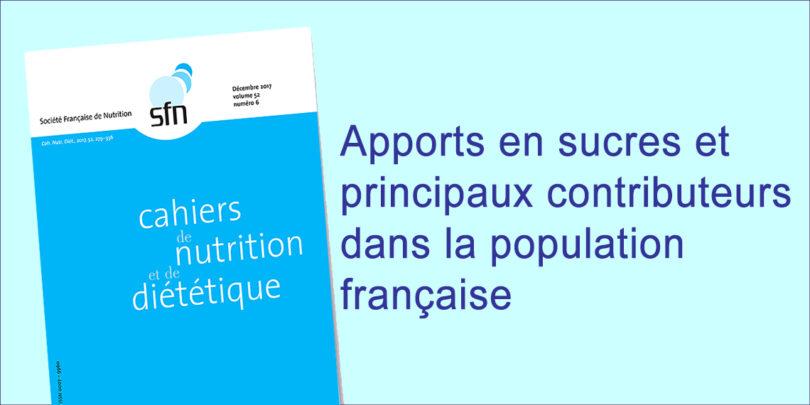 CND - YINI FR - Apports en sucres et principaux contributeurs
