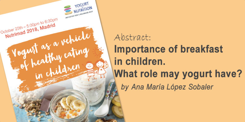 Importance of breakfast in children: what role may yogurt play?