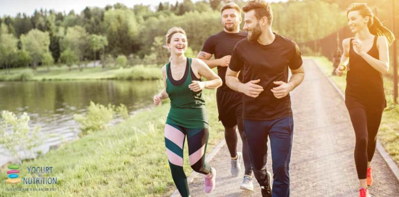 Yogurt and exercise could help