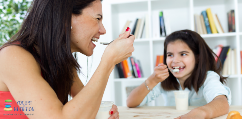 YINI - Healthy eating in children: parents set the example