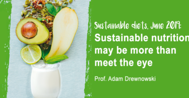 YINI symposium A drewnowski Sustainable nutrition may be more than meet the eye