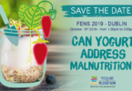 YINI @ FENS 2019 - Can yogurt address malnutrition?