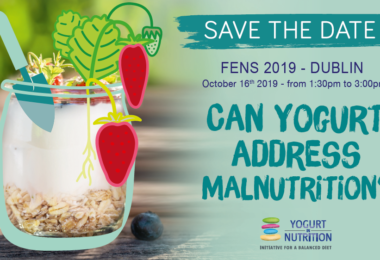 YINI @ FENS 2019 - Can yogurt address malnutrition?