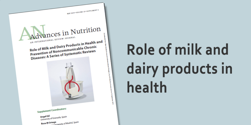 Milk and dairy products in health: a series of systematic