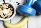 Greek yogurt and muscle - YINI