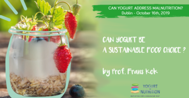 YINI @FENS2019 - Can yogurt be a sustainable food choice?