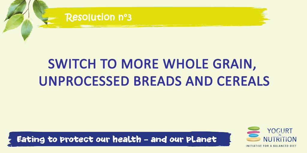 Switch to more whole-grain diet