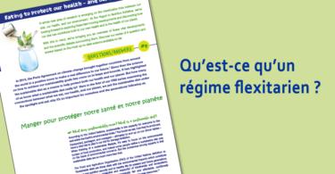 Qu'est ce qu'un régime flexitarien?