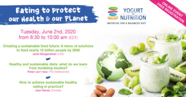 Eating to protect our health and our planet YINI Live event