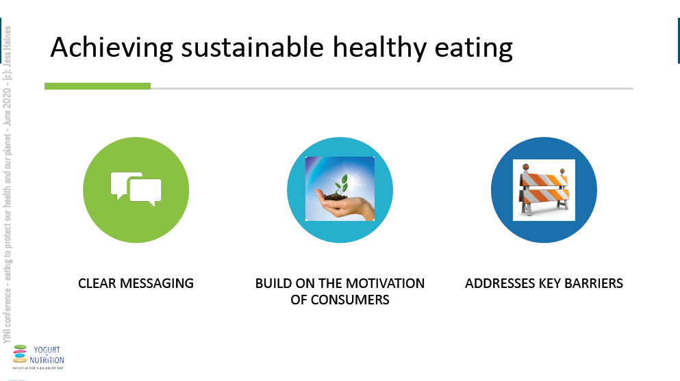 Eating to protect our health and our planet - Jess Haines