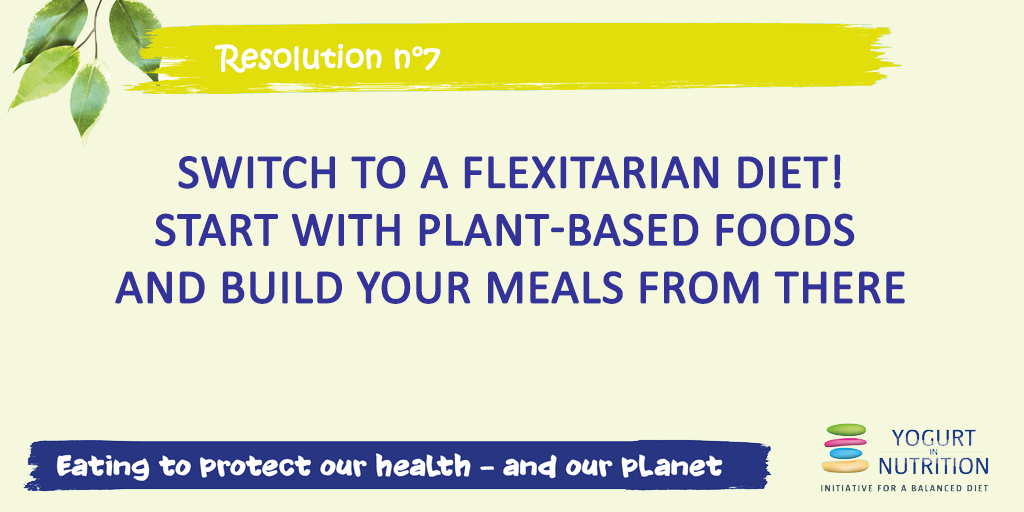 Switch to a flexitiarian diet