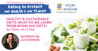 Eating to protect our health and planet -Pieter van' Veer