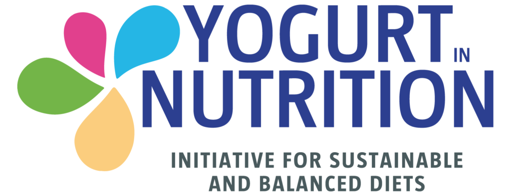 Logo Yogurt In Nutrition (Yini) Initiative for a sustainable and balanced diet