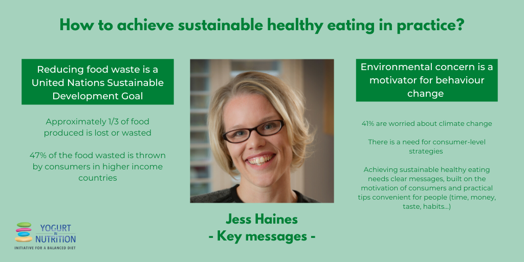 Eating to protect our health and planet - key messages by Jess Haines - YINI