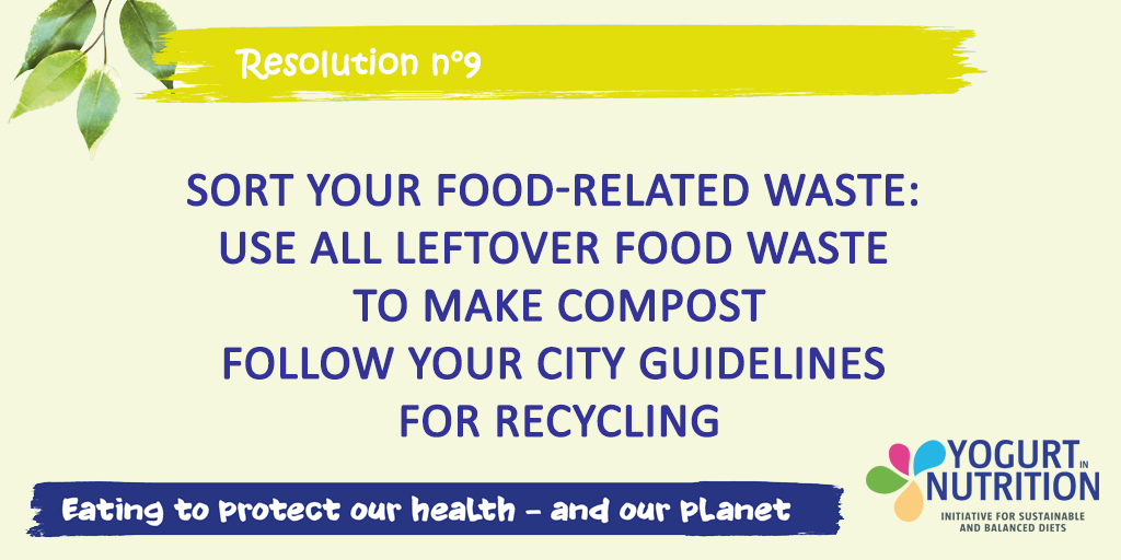 Sort your food-related waste - YINI resolution