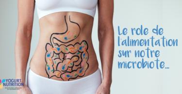 le role de l'alimentation sur le microbiote intestinal - YINI