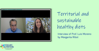 Territorial and sustainable healthy diet - yogurt in nutrition