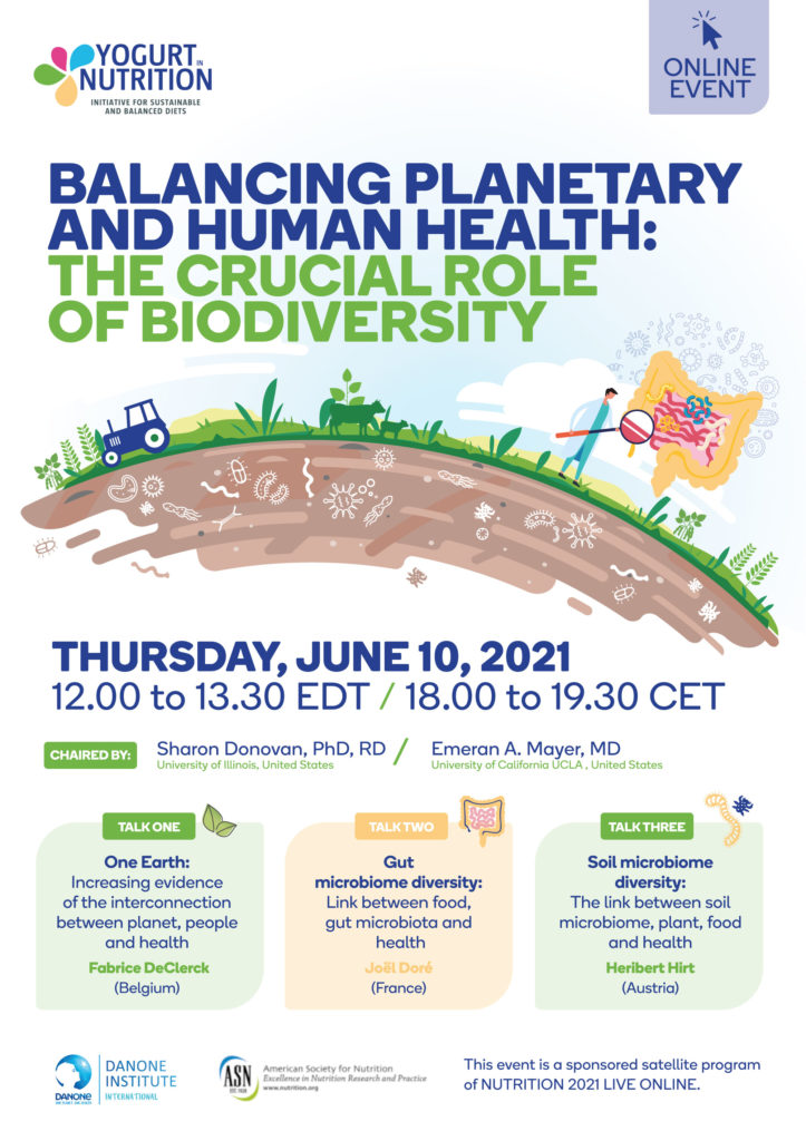 planetary and human health: role of biodiversity - yogurt in nutrition