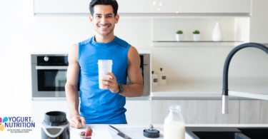 Could dairy products boost your sporting performance? - yogurt in nutrition