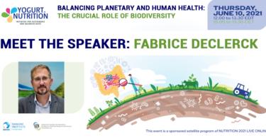 Meet Fabrice DeClerck - yogurt in nutrition